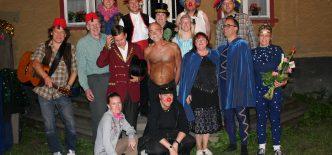 Gruppbild Cirkus hela dan stor
